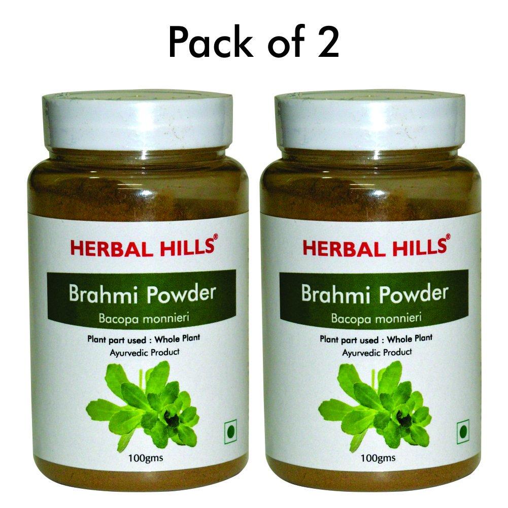 Brahmi Powder - Bacopa monnieri Pack of 3 - 100 gms each