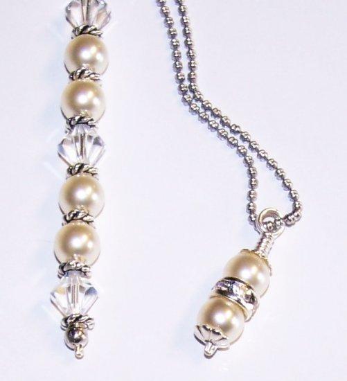 Swarovski Crystal and Pearl Wedding Set