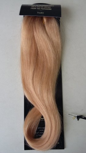 "16"" Dark Blond Halo 100% Indian Remy Human Hair Colour #18"