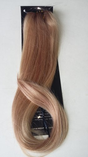 "20"" Golden Brown Swedish Blonde Mix 100% Indian Remy Human Hair"