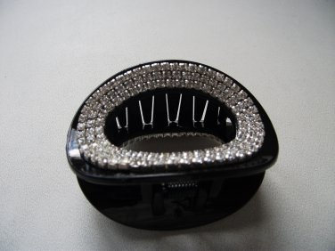 Oval Plastic Claw Hair Clip