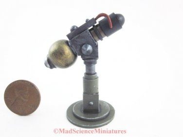 Mad Science Miniatures Laboratory Equipment Dollhouse D210 1:12 Scale Model Spooky Weird Halloween