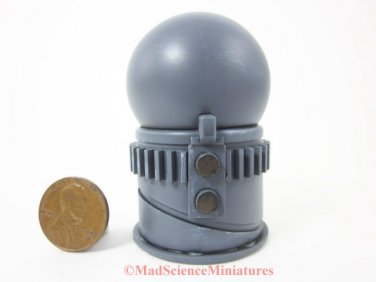 Miniature Mad Science Laboratory Equipment D128 1:12 Scale Dollhouse Model Spooky Weird Halloween