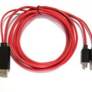 1080P USB MHL HDMI HDTV AV TV Cable adapter Cord For LG Optimus G LG-F180L phone