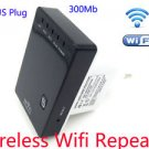 300Mbps Mini Wireless-N Wifi Router AP Repeater Extender Bridge Access Point