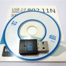 300Mbps 802.11 n/g/b Wifi USB to Wireless Adapter Dongle for Laptop Computer PC