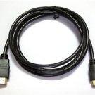 mini HDMI A/V TV Video Cable Cord For Canon EOS Rebel T4i T5i 650D 600D 700D