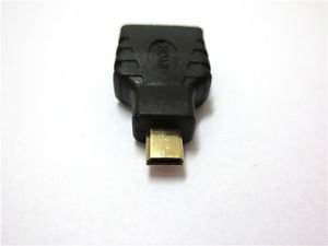 HDMI F to Micro HDMI M Cable Adapter for Blackberry Playbook