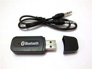 USB Bluetooth Music Receiver 3.5mm Stereo Audio for Samsung Galaxy S4 S5 S6 Edge