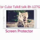 3pcs Clear Screen Protector Protective Guard Film for Cube Talk8 talk 8h U27GT