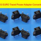 12PC US USA to AU Europe Travel Power Adaptor Wall Outlet AC Converter Plug