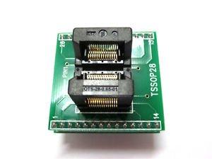 TSSOP28 to DIP28 IC TSSOP20 TSSOP24 Multifunctional burning seat Conversion