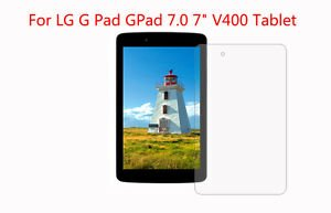 3pcs High Quality Screen Protector Film for LG G Pad 7.0 V400 7 inch Tablet PC