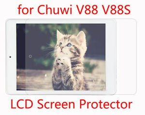3pcs Transparent Screen Protector Protective Film for Chuwi V88 V88S tablet PC