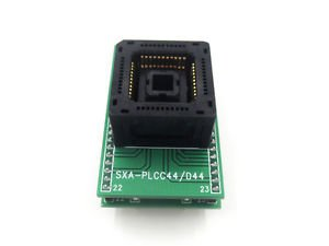 Chip Programmer Socket PLCC44 to dip44 adapter high quality Pitch1.27mm