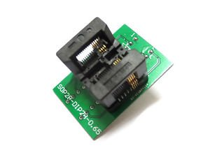 SSOP8 TO DIP8 TSSOP8 IC Test Socket Programming Adapter 0.65mm Pitch SSOP28