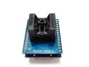 SSOP8 TO DIP8 TSSOP8 IC Socket Programming Adapter SOP-28-0.65-01 SSOP28-DIP28-1