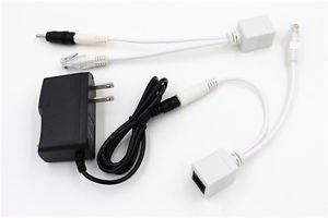 5V POE Cable Adapter Wall Charger Power Supply For Foscam Fi8910w Fi8916w