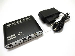 Mini 5.1 Channel DTS / AC3 HD Audio Rush Digital Surround Sound Decoder
