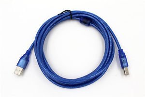 USB Cable for Kodak Esp Office 2150 2170 6150 All-in-One Printers Blue 2.0 10ft