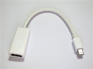 Thunderbolt Mini Displayport DP to HDMI TV Adapter Cable For MSI GE72