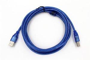 10ft USB PRINTER CABLE CORD FOR BROTHER HL-1110/HL-2132/HL-2130/HL2135W HL-2240