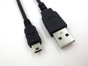 USB PC SYNC DATA CABLE FOR SAMSUNG SE-218CB/RSBS PORTABLE EXTERNAL DVD WRITER