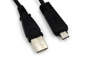 USB Cable (VMC-MD3) for Sony CyberShot W Series DSC-W560, W570 WX5, WX10 Camera