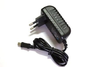 2A AC/DC EU Wall Power Charger Adapter For Garmin GPS Nuvi 2597/LM/T 2597/LT