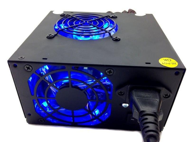 ATX Power Supply Unit SATA Molex 20/24 4/8 PCI-e 6 Pin Replacement Upgrade 700 W   EJ