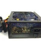 700w 120mm Blue 4x LED Fan Silent Sata Pci-e 24 Pin Power Supply For Intel AMD    EJ
