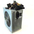 650W 650 Watt 12cm Fan ATX Silver SATA PCI-E Power Supply for Intel AMD PC Comp    EJ