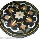 "Size 30""X30"" Marble Dining Table Top Rare Inlay Floral Ornate Patio Deco H923A"