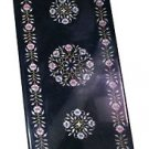 Size 4'X2' Marble Dining Table Top Inlay Stone Mosaic Floral Ornate Decor H932