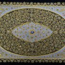 2'x3' Wall Hanging Jewel Carpet Decorative Rug Semi Precious Stonework Huge Art