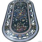 Size 3'X2' Marble Dining Table Top Rare Inlay Pietradure Mosaic Home Decor H930