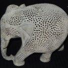 Marble Filigree Fine Elephant Inside Baby Elephant Handmade Home Decor Gifts