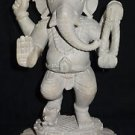 "8.5"" White Marble Statue Lord Ganesha Deities Sculpture Handmade Home Gifts Art"