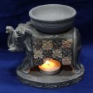 Marble Tea Light Oil burner Elephant Design candle stand Home Decor Gifts Art