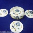 Marble Coaster Set Handmade Lapis Lazuli Peitra Dura Home Decorative Gifts New