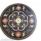 """24"""" Marble Console Table Top Inlaid Handmade Side Table Top Home Decor Gifts Art"""