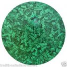 3' Green Marble Dining Coffee Table Top Malachite Inlaid Gem Stone Handmade Gift
