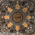 3'x6' Italian Specimen Black Marble Conference Table Top Dining Top Pietra Dura