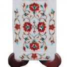 "5""x 8"" Marble Serving Dish Tray Rare Hakik Gems Mosaic Inlaid Kitchen Deco Gifts"