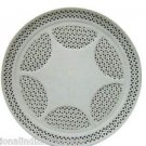 "15"" White Marble Plate Filigree Hand Carved Handmade Home Decor Gifts Arts New"