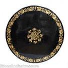 3' Marble Dining Table Top Hakik Inlay Gem Ancient Mosaic Leaf Art Handmade Gift