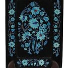 """7""""x 10"""" Marble Serving Tray Plate Turquoise Mosaic Inlaid Pietradura Home Decor"""