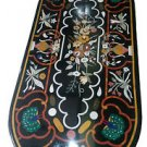 "Size 30""x60"" Marble Dining Table Top Inlay Pietradure Peacock Art Decor H948A"