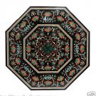3.5' Marble Dining Table Top Multi Inlay Pietra Dura Floral Art Handmade Decor