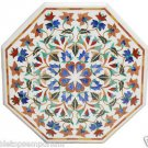 Size 2'x2' Marble Coffee Table Top Handmade Marquetry Mosaic Art Home Decor
